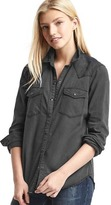 Gap 1969 Relaxed Western Denim Shirt