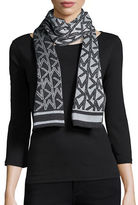 MICHAEL Michael Kors Logo Lurex Knit Scarf