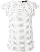 Steffen Schraut squares print blouse