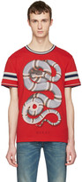Gucci Red Snake T-Shirt