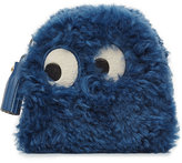 Anya Hindmarch Ghost Shearling Zipped Coin Purse