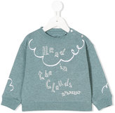 Burberry mini Clemy sweatshirt - kids - Cotton - 9 mth