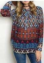 Hayden Tribal Design Top