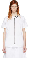 Craig Green White Lace-up Collar T-shirt