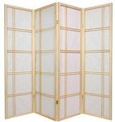 Oriental Furniture 5-Feet Double Cross Japanese Shoji Privacy Screen Room Divider