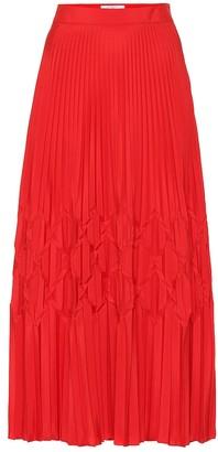 Givenchy Pleated midi skirt