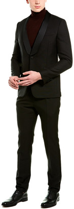 Valentino 2Pc Wool & Mohair-Blend Suit