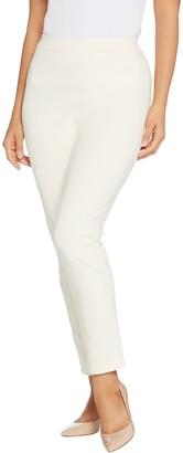 Joan Rivers Classics Collection Joan Rivers Regular Joan's Signature Ankle Pants w/ Sequin Strip