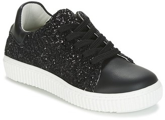 Citrouille et Compagnie ITINGOES girls's Shoes (Trainers) in Black