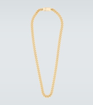 Tom Wood Rounded curb gold-plated chain