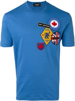 DSQUARED2 patches T-shirt