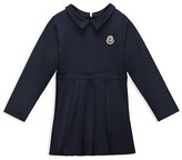 Moncler Girls' Quilt Front Knit Dress - Sizes 8-14