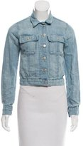 J Brand Denim Button-Up Jacket
