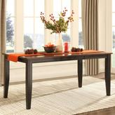 HomeSullivan Cherry Hill Extendable Rectangular Dining Table in Rich Cherry and Black