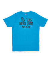 Micro Me Cobalt 'Mom Thinks She's In Charge' Tee - Toddler & Boys