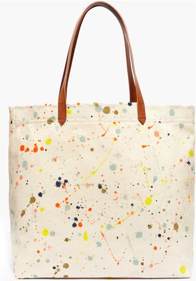 Madewell Canvas Transport Dip Dye Tote Bag