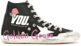 Golden Goose Deluxe Brand Francy high-top sneakers - women - Cotton/Canvas/rubber - 35