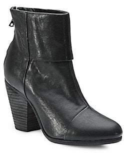 Rag & Bone Women's Newbury Leather Ankle Boots