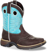 Durango Lil Rebel Western Saddle Toddler & Youth Cowboy Boot - Girl's