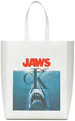 Calvin Klein jaws tote bag