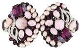 Erickson Beamon Embellished Hinge Cuff