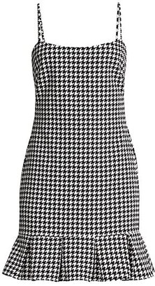 LIKELY Shelly Houndstooth Dress