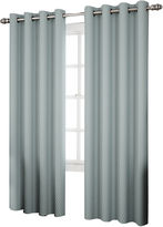 Eclipse Ridley Room-Darkening Grommet-Top Curtain Panel