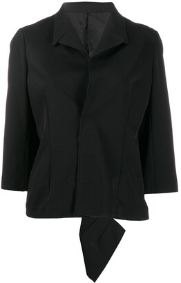 Comme Des Garçons Pre-Owned 1990's Flappy Asymmetric Back Jacket