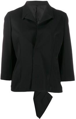 Comme Des Garçons Pre Owned 1990's Flappy Asymmetric Back Jacket