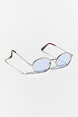 Urban Outfitters Moto Head Wire Oval Sunglasses