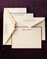 Carlson Craft 50 Personalized Correspondence Cards with Personalized Envelopes