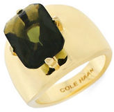 Cole Haan Emerald 12K Gold-Plated Ring
