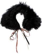 Marni Fox Fur Collar