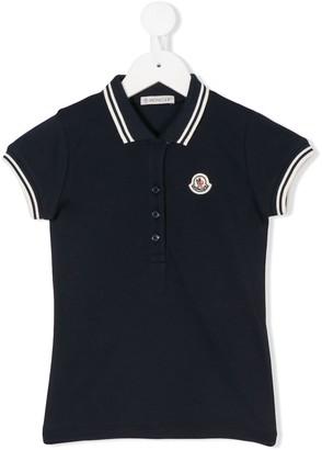Moncler Enfant Short Sleeve Polo Shirt