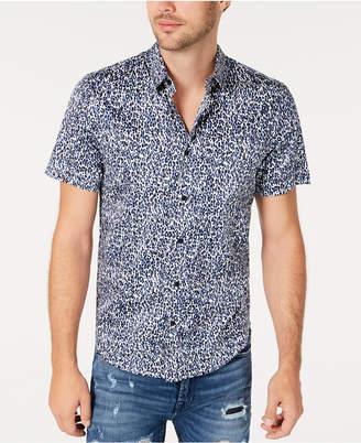 GUESS Men Leopard Print Shirt