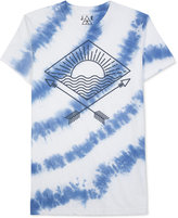 JEM Men's Tie-Dyed Graphic-Print T-Shirt