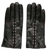 Michael Kors Leather Embellished Gloves