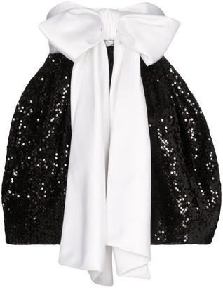 Alexandre Vauthier Bow Detail Pouf-Style Dress