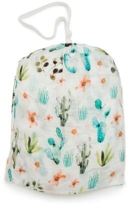 Loulou Lollipop Muslin Crib Sheet - Cactus Floral