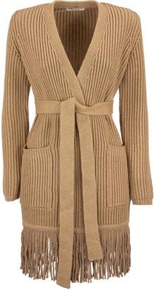 Max Mara Arold Wool And Cashmere Yarn Cardigan