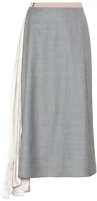 Prada Wool and silk skirt