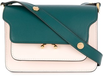 Marni Flap Colour-Block Shoulder Bag