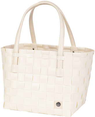 Handed By - Colour Match Shopper Bag - Ecru White