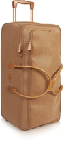 Bric's Life - Large Camel Micro Suede Rolling Duffle Bag