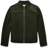 Oliver Spencer - Buck Slim-fit Corduroy-trimmed Virgin Wool Jacket
