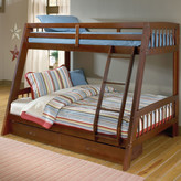 Hillsdale Rockdale Twin over Full Bunk Bed with Storage