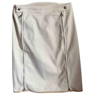 Prada Ecru Cotton - elasthane Skirt for Women