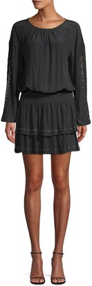 Ramy Brook Embellished Blouson Dress