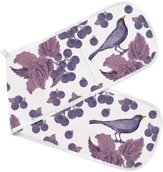 Thornback & Peel Blackbird & Bramble Printed Oven Gloves