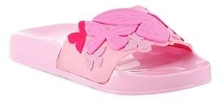 Sophia Webster Little Girl's & Girl's Butterfly Jelly Slides